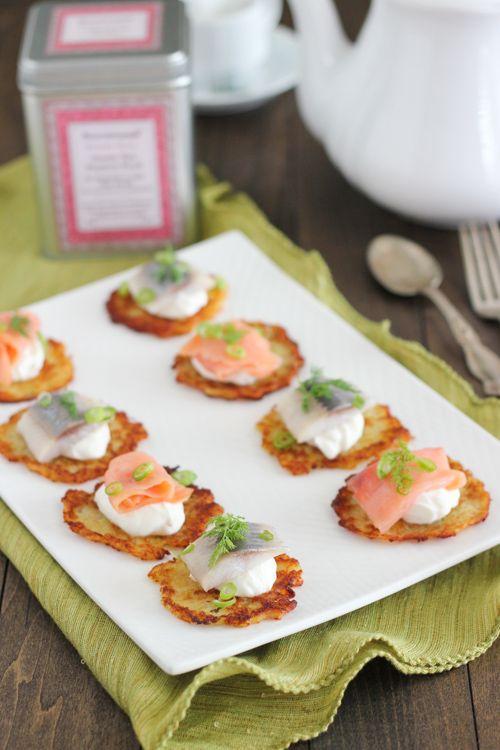 Potato Pancake Appetizers | Olga's Flavor Factory