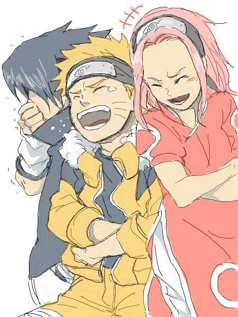 Naruto / Team 7 / Naruto Sasuke Sakura