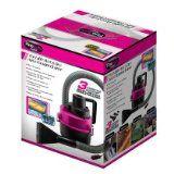 Portable Wet & Dry Auto Vacuum Cleaner Pink/Black  List Price: $25.95 Discount: $12.99 Sale Price: $12.96