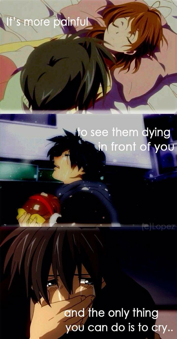 Anime clannad after story Anime quotes Pinterest