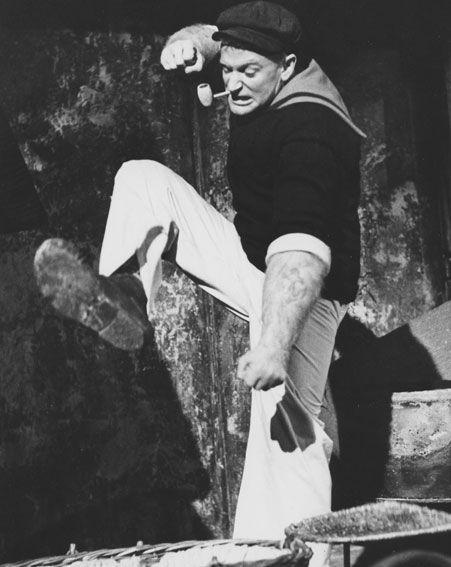 Robin Williams landed his first major film role as Popeye in the 1980 film [Wenn]