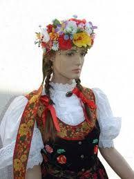 Znalezione obrazy dla zapytania strój krakowski damski