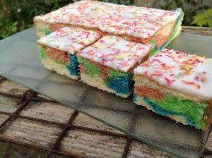 Papageienkuchen- der perfekte Kuchen für jeden Kindergeburtstag