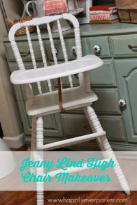 Antique High Chair Safety Strap