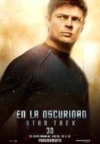star trek simon pegg poster   Posters de personajes de En la oscuridad Star Trek   Cine PREMIERE