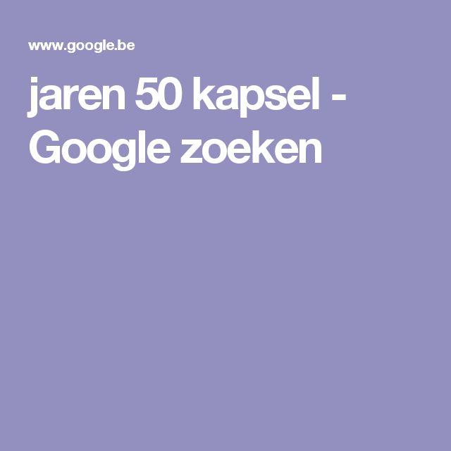 jaren 50 kapsel - Google zoeken
