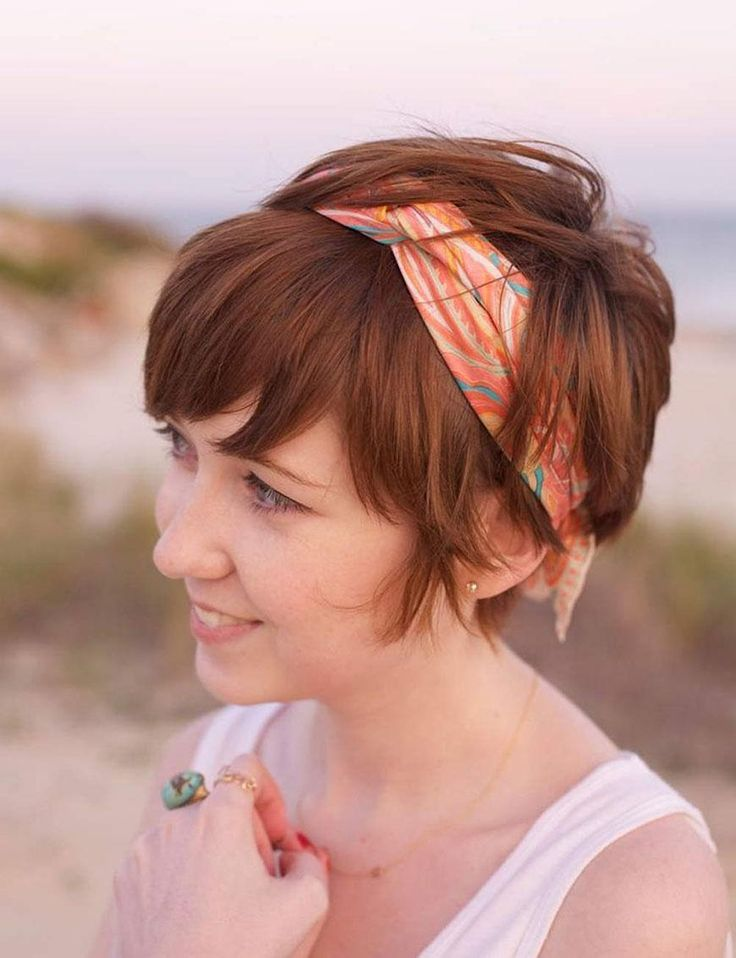 Hair Accessory for Summer Cute Bandana