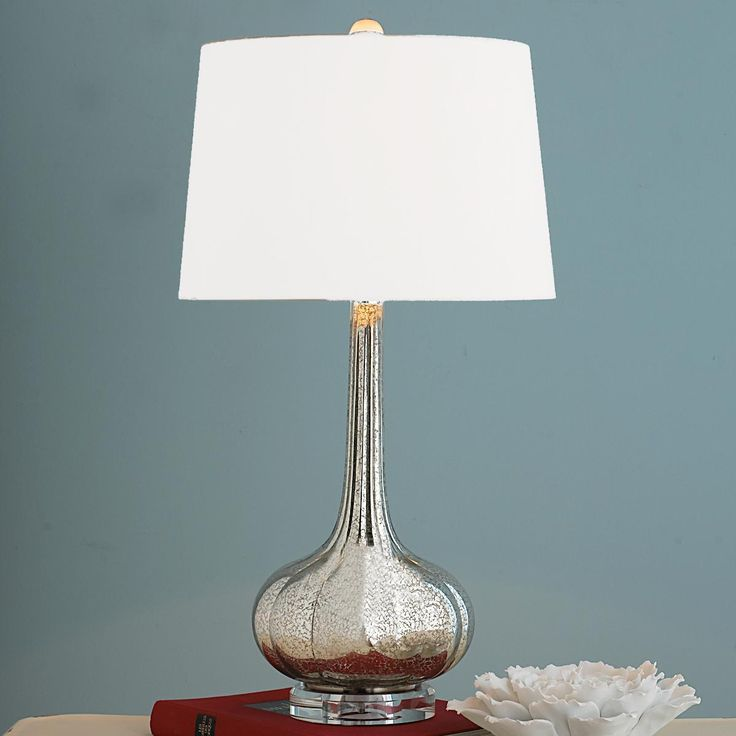 Long Neck Melon Glass Table Lamp - 57 Best Mercury Glass Lamps Images On Pinterest Glass Lamps
