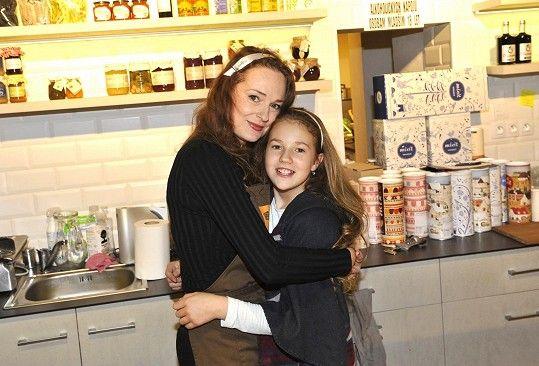 Markéta s dcerou Christel