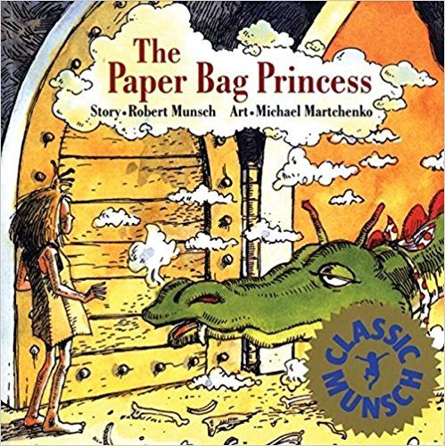 The Paper Bag Princess by Robert Munsch A wonderful storyteller, animated and a joy to hear live.