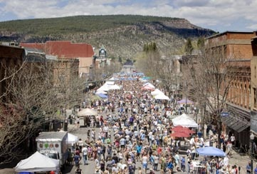 Taste of Durango. Fun gathering on Main St. to taste the fabulous fare from area restaurants and beer from our 4 brew pubs.