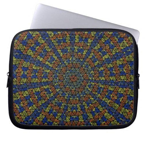 Kaleidoscope Mosaic Laptop Sleeve