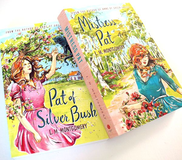 L.M. Montgomery - Pat Book Covers - by Jacqui Oakley Illustration (Sourcebooks)