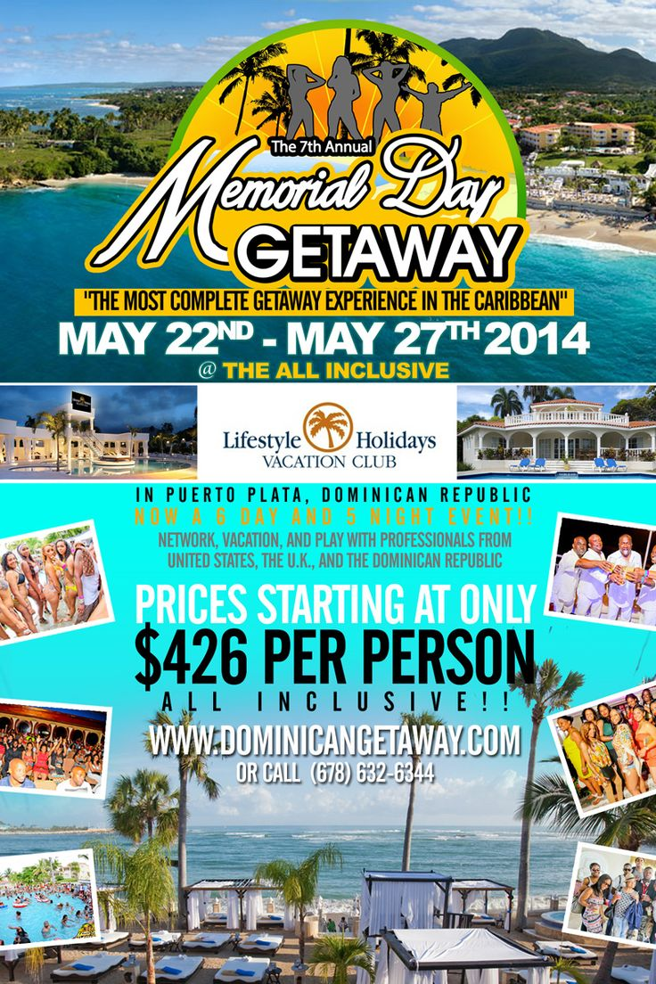 memorial weekend getaway packages