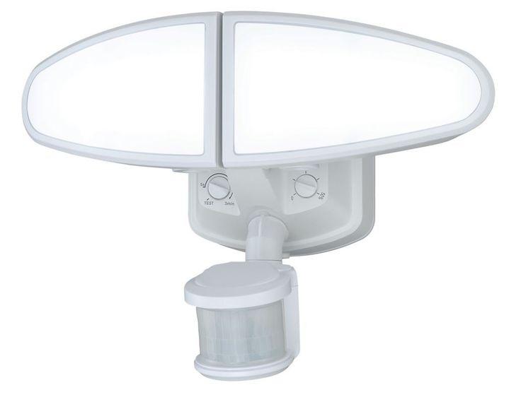 Vaxcel Lighting T0173 Kappa 2 Light LED Motion Sensor Photocell Outdoor Flood Li White Commercial Lighting Site Lighting Flood Lights