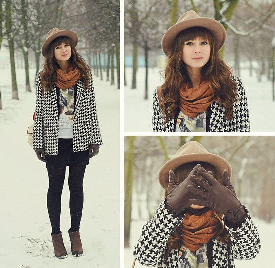 Let it snow :)  (by Maddy C) http://lookbook.nu/look/4326845-Let-it-snow
