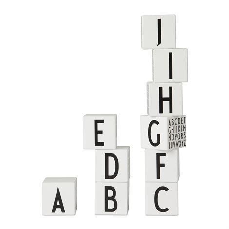 design letters alfabet blokken