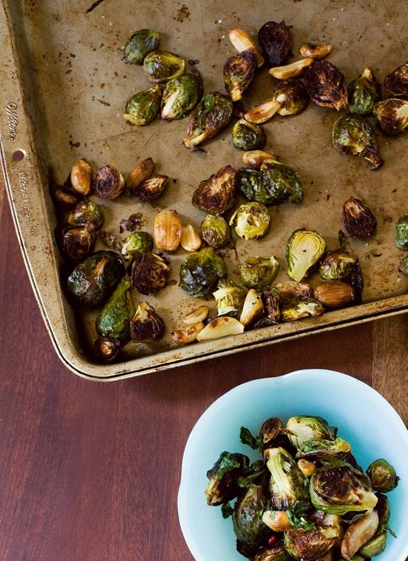 The Best Brussels Sprouts You'll Ever Have. Oh Joy for A CUP OF JO