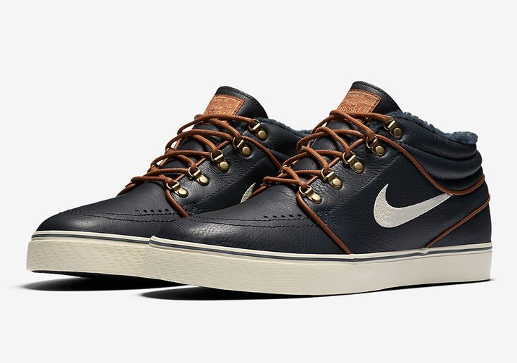 This Nike SB Zoom Stefan Janoski Mid Has A Boot-Like Feel To Them