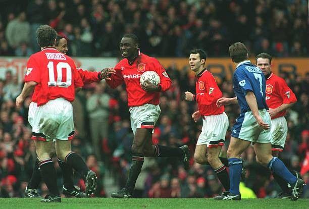 ปักพินโดย Red Devils ใน Manchester United season 1994/95 ในปี 2020