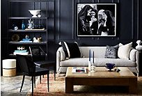 This classically designed tuxedo sofa, proudly perched on kiln-dried hardwood legs, is tailored with luxe button-tufted velvet and four lofty throw pillows for added comfort and style. Made in the...