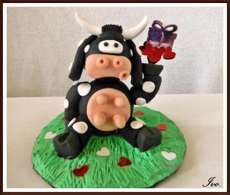 Vaca plastilina