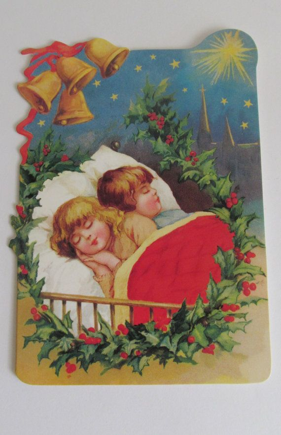 11 best Vintage Christmas Cards images on Pinterest Envelopes - blank xmas cards