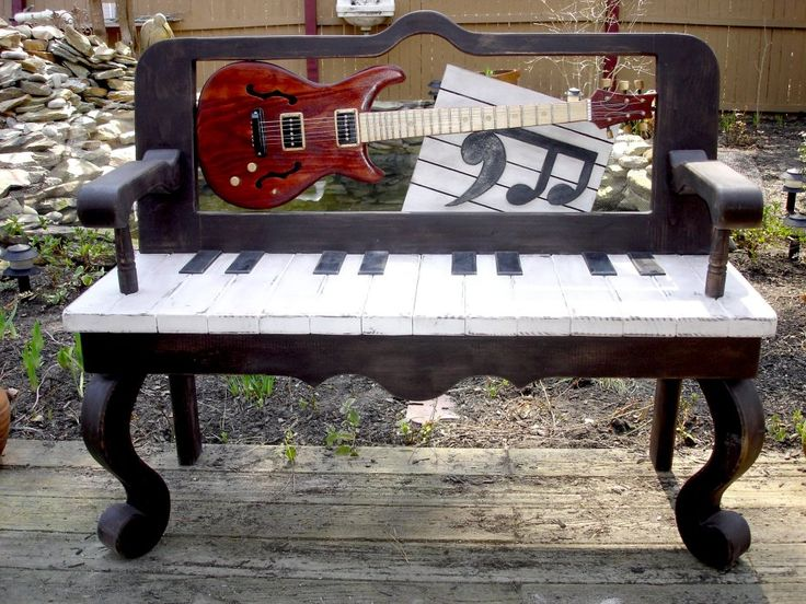 Piano keyboard Music Bench
