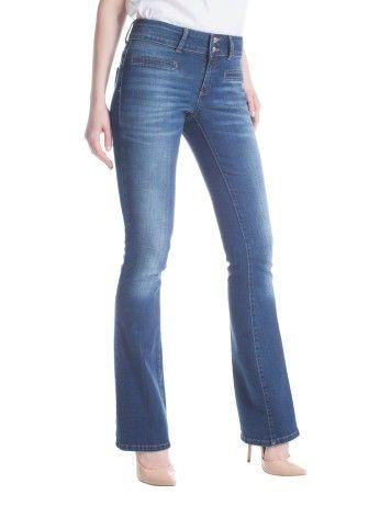 La vita alta aiuta a modellare i fianchi. High waist helps shape your hips