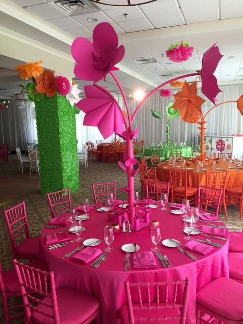bat mitzvah centerpieces - Google Search