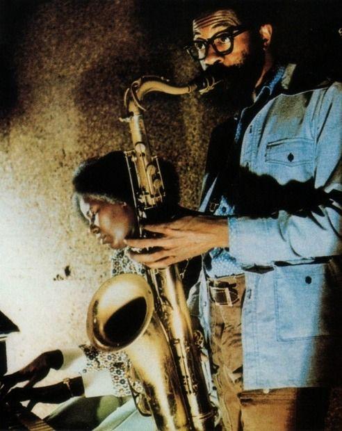 Joe Henderson and Alice Coltrane