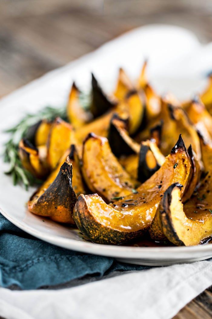 This Apple Cider Roasted Squash Is A Great Easy Acorn Squash Side