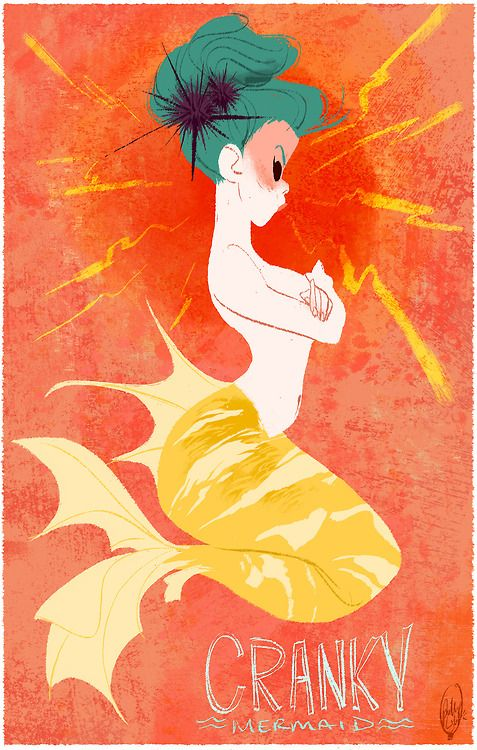 Cranky Mermaid by Phillip Light