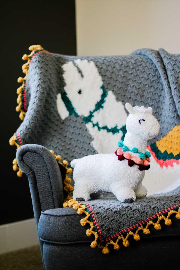 Huggable Crochet Alpaca Or Llama Toy Free Pattern