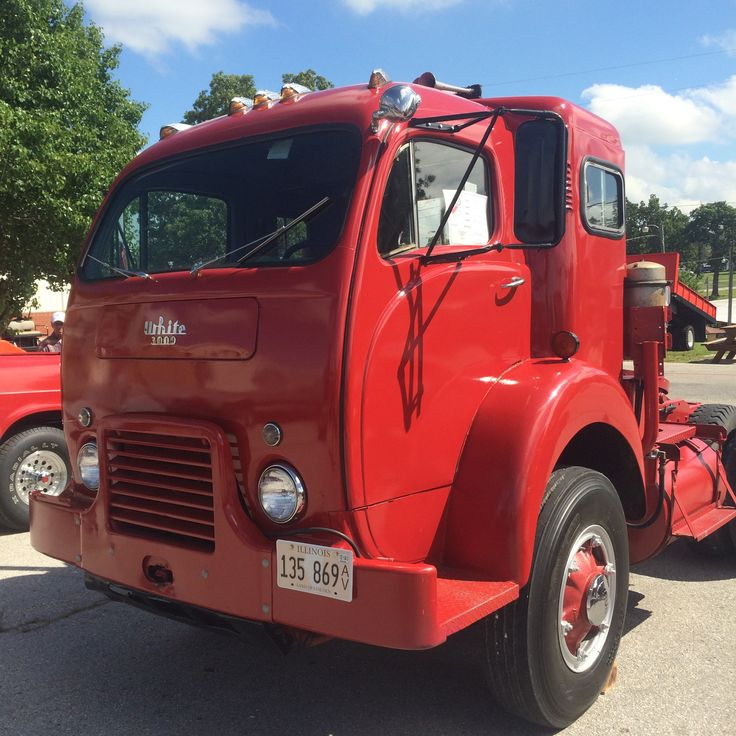 White 3000 cabover | White, GMC truck pictures, Autocar ...