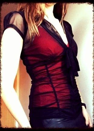 Kup mój przedmiot na #vintedpl http://www.vinted.pl/damska-odziez/bluzki-z-krotkimi-rekawami/11648508-bluzka-top-impreza-sexy-36-xs-jennifer-taylor