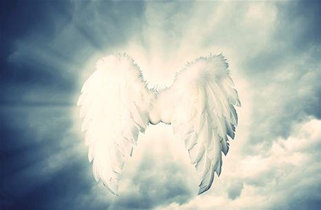 Änglar som skyddar och ger tröst