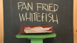 Pan Fried Whitefish #recipe on #PEI from @Chef Michael Smith. http://chefmichaelsmith.com/food-country/pan-fired-whitefish/