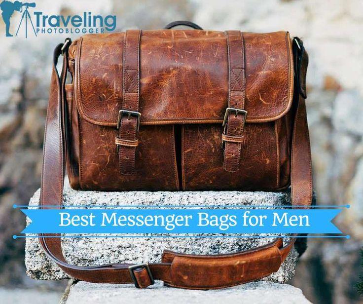 Best Messenger Bags for Men - Repin if you got value https://www.travelingphotoblogger.com/best-messenger-bags-for-men/