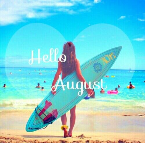 Captivating Hello August