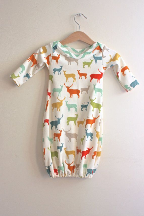 Loving this Organic Baby Sleep Sack Gown Nightgown featuring by bizzyandboo
