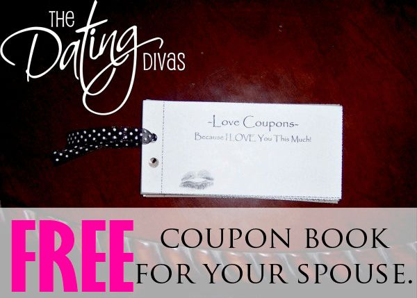 Free printable coupon book for your spouse!