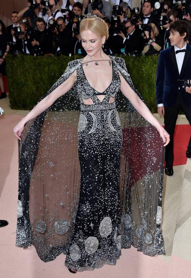 Nicole Kidman en Alexander McQueen Met  Ball