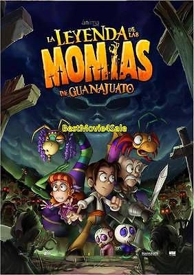 La Leyenda De Las Momias De Guanajuato BRAND NEW DVD SEALED SHIPS NOW!!