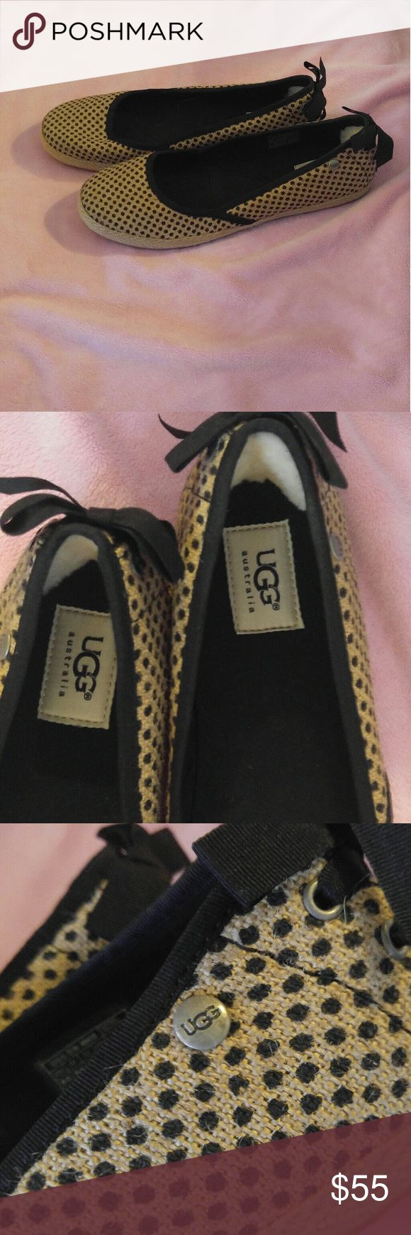 UGG slip ons Brad New UGG shoes. SIZE 9.5 women's excellent condition UGG Shoes Flats & Loafers