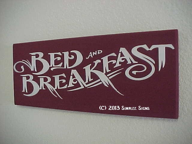 Does your house feel like a Bed and Breakfast ?