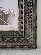 Carton Noir - ENCADREMENTS - Exclusive objects, mirrors, frames from Cecile Chappuis