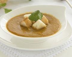 Soupe de lentilles au curry (facile, rapide) - Une recette CuisineAZ