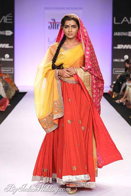 Gaurang at Lakme Fashion Week S/R 2014