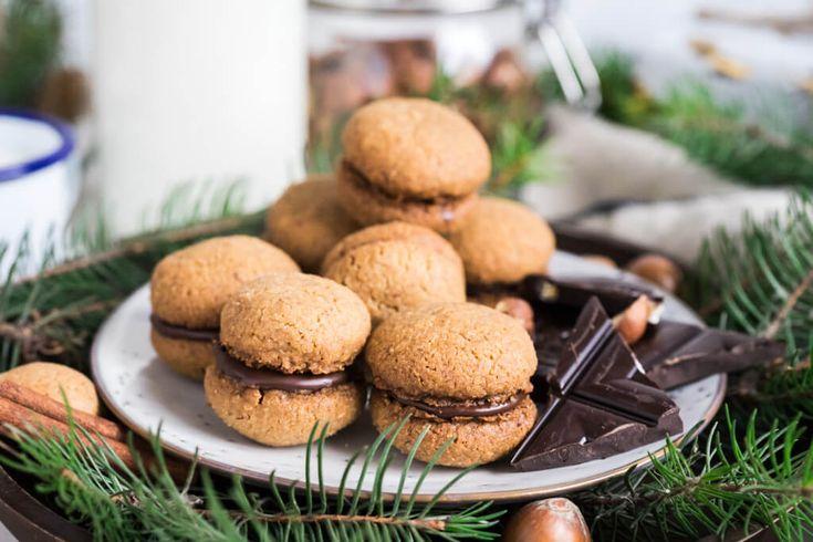 Lieskovo orieškové sušienky / Vianoce